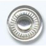 Часть кнопки омега, альфа Размер-11,5мм Цвет-никель часть (С)